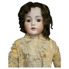 "INCREDIBLE 44""(112CM) German antique KR 117 mein liebling doll  in size 20,  greatest  face!!!"