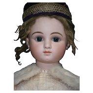 "35""(89cm) Gorgeous French bebe STEINER serie C-7, BLUE-EYED. -boutique label ""AU nain bleu"""