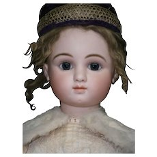 "35""(89cm) Gorgeous French bebe STEINER serie C-7, BLUE-EYED. -boutique label ""AU nain bleu"""