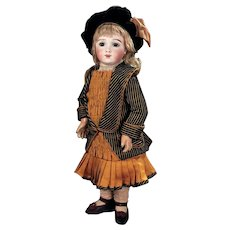"""22""""  MOST beautiful   French  bebe A.T.  by  THUILLIER  size 10 in great condition."""