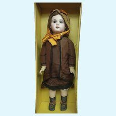 "34""    (83CM)  Exceptional  bebe  JUMEAU    E 15 J  in french couture  boxed  set JUMEAU 15"