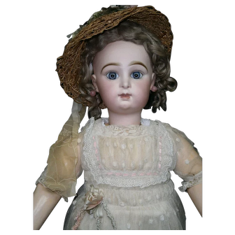 """26"""" Extraordinary cutest antique  perfect PARIS  bebe by  Jumeau  size 11, marked body and shoes  jumeau"""