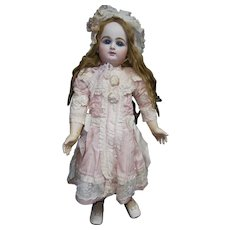 "SUBLIME 29""(73CM) Amazing large Rabery Delphieu antiquer french bebe  doll coutured dressed ,  the beauty!!"