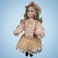 Doll's  handmade new couture dress and underwear  and shoes  for  french jumeau doll size 10 (52-58 cm)