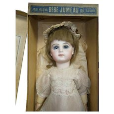 "SPECIAL  15"" (37cm) Emile  Jumeau  E5J  BEBE antique french, MIB, marked shoes & dress.....hipnotical dream!!"