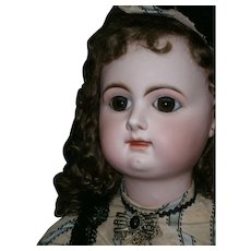 "33"" ANTIQUE Rabery DELHIEU size 5 french doll."