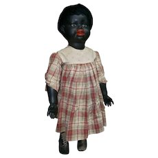 "25""(63CM) Rare antique German black character doll 251 S&Q"