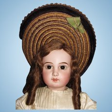 "32""(78cm)Exciting French bebe Jumeau  E14J closed mouth/straight wrist/Browned-eyed A/O"