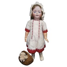 "28""LARGE German character toddler  ERIKA by S&H"