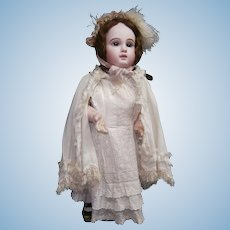 """32 """" Stunning antique french  Depose E 14 J by Emile jumeau doll"""