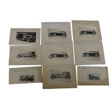 Automobila : Vintage 1930 Cadillac and Chrysler Prints