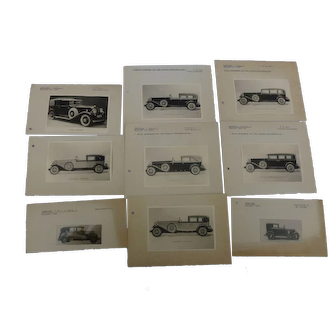 Automobila : Vintage 1930 Cadillac and Chrysler Prints