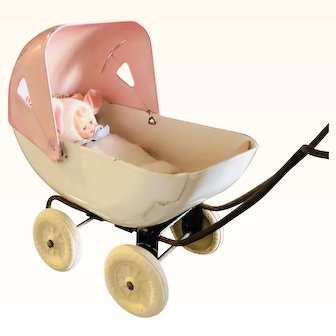 1930's Wyandotte Toy Baby Carriage