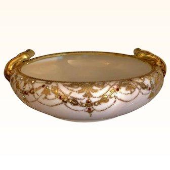 Antique Nippon Noritake Decorative Bowl
