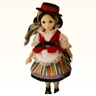 Suzanne Gibson International Canary  Doll