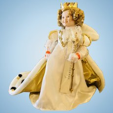 Shirley Temple Little Princess Porcelain Doll Danbury Mint 1991