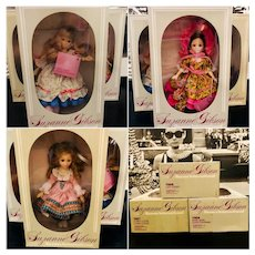 Suzanne Gibson Set of 3 Dolls