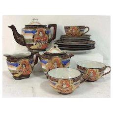 Satsuma Tea Set and Dessert Plates