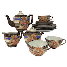 Satsuma Tea Set and Dessert Plates