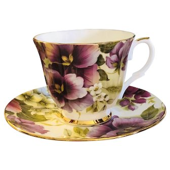 Duchess Made in England Teacup & Saucer