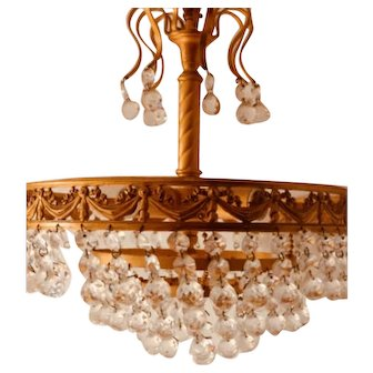 French Chandelier Ceiling Lamp