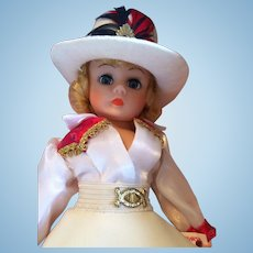 "Madame Alexander  Portrettes"" Cowgirl"" MIB Cissette Doll 10"""