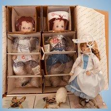 My Best Friends,  Raggedy Ann & Andy Danbury Mint & Little Bo Peep