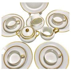 H & C Heinrich & CO Selb Bavaria Tea Set 21 Pieces