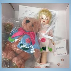 "Beautiful Madame Alexander Collectable Doll Name ""Spring Splendor"""