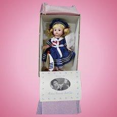 Madame Alexander SAILOR GIRL 2605 Beautiful Mint Condition