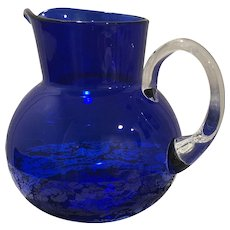 Cobalt Vintage Pitcher