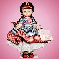 "Madame Alexander 8"" American Parade"