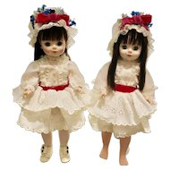 Madame Alexander 1965 Degas Dolls & Another