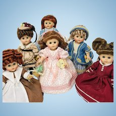 Six Vogue Ginny Dolls