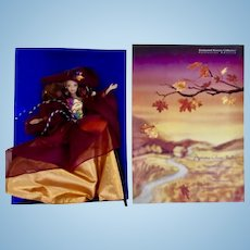 Barbies Two Special Editions Enchanted Seasons & Celebrate Barbies Holiday 2000