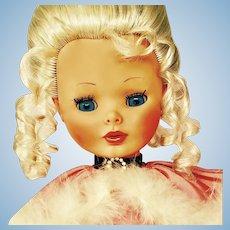 "Show Stopper Vintage 21'  Italian ""Rossana"" Furga Doll"