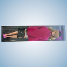 Vintage Ma Ba Maba PB Store Blonde Barbie in cute pink black outfit
