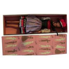 Vintage Hauser German Bild Lilli Large (11.5 inches) Doll pink grey Lalka Box