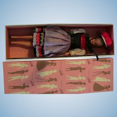 Vintage Hauser German Bild Lilli Large (11.5 inches) Doll pink grey Lalka Box