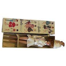Vtg Japanese Exclusive Redhead Bubblecut White Majorette outfit Stand Box LOT