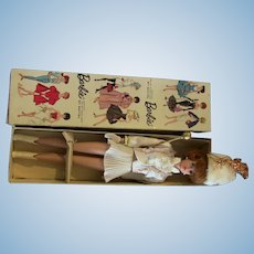 Vtg Japanese Exclusive Redhead Bubblecut White Majorette outfit Stand Box LOT