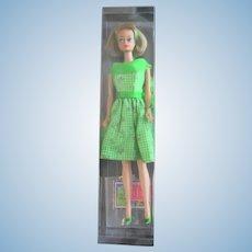Vintage Long Hair American Girl Barbie in Handmade Japanese Theater Date