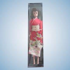 Vintage Japanese Exclusive Midge Barbie in Kimono Obi Wig Lot