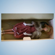 Ma Ba PB Store Barbie with box and stand in handmade version Gay Parisienne