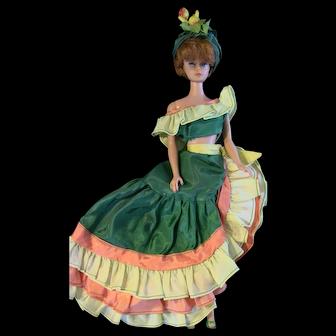 VTG Bubbluecut Barbie n Halina's Fashion of Chicago Doll Tropicana Latin LOT