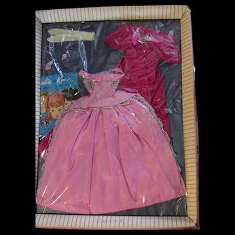 Vintage Barbie Sophisticated Lady #993 Dress Jacket Japan Mules Gloves Booklet in Original Package NRFP NIP