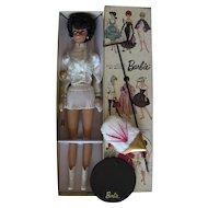 VTG Rare HTF Japanese exclusive Bubblecut Barbie Majorette Round Stand Box Booklet LOT