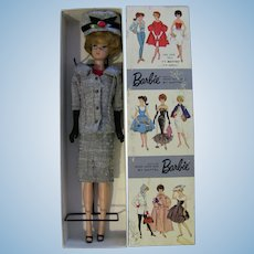 Vntg 1960s Barbie DRESSED BOX Career Girl #964 Bubblecut Doll Hat Jacket Skirt