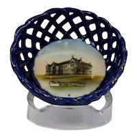 Souvenir Basket Dish The Museum Of Fine Arts Boston Mass