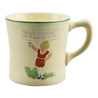 Ovaltine Mug Little Orphan Annie Dog Sandy Harold Gray Wander Company Chicago